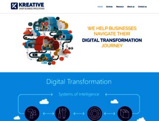 kreativeapps.com screenshot