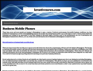 kreativenews.com screenshot