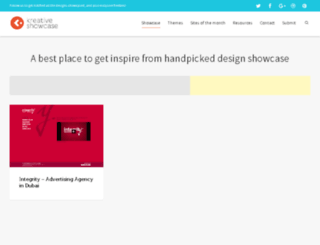 kreativeshowcase.com screenshot
