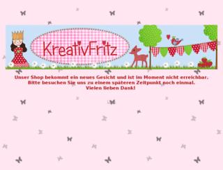 kreativfritz.de screenshot