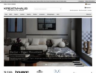 kreativhaus-hamburg.de screenshot