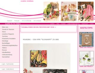 kreativmarktplatz.de screenshot
