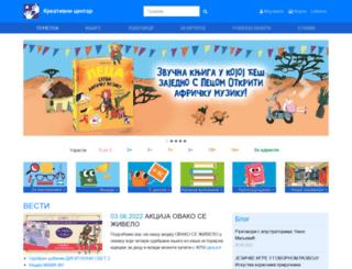 kreativnicentar.rs screenshot