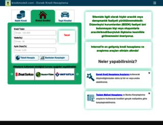 kredimodeli.com screenshot