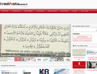 kredinotu.name.tr screenshot