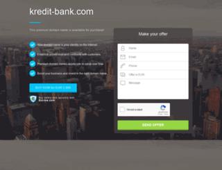 kredit-bank.com screenshot