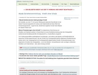 kredite-ohne-bonitaet.de screenshot