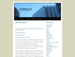 kreditindex.net screenshot