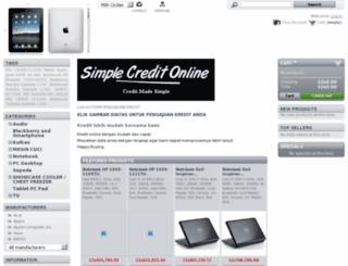 kreditkomputer.com screenshot