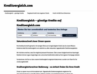 kreditvergleich.com screenshot