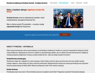 kredyt-firmowy.szczecin.pl screenshot