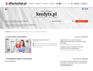 kredyts.pl screenshot