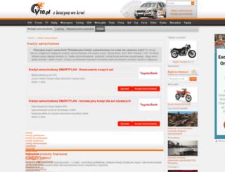 kredyty-samochodowe.v10.pl screenshot