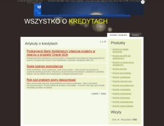 kredyty.c0.pl screenshot
