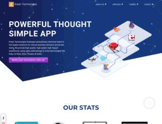 kreeti.com screenshot