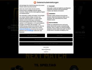 krefeld-pinguine.de screenshot