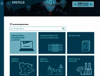 krefeld.de screenshot