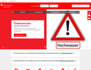 kreissparkasse-euskirchen.de screenshot
