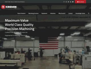 kremininc.com screenshot