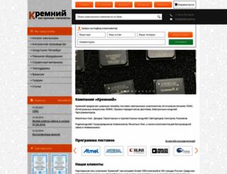 kremnium.ru screenshot