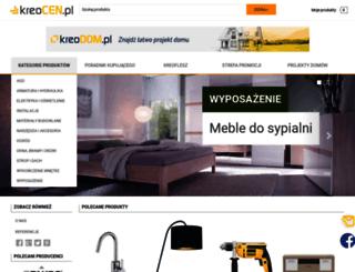 kreocen.pl screenshot