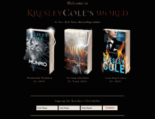 kresleycole.com screenshot