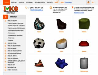 kreslo-meshki.ru screenshot