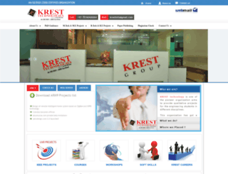 kresttechnology.com screenshot