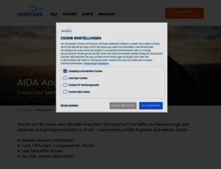 kreuzfahrt-prozente.de screenshot