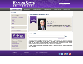 krex.k-state.edu screenshot