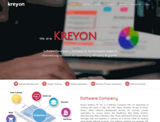 kreyonsystems.com screenshot