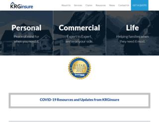 krg.com screenshot