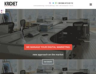 krichet.com screenshot