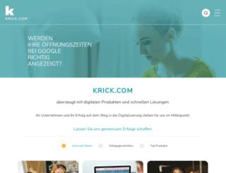 krick.de screenshot
