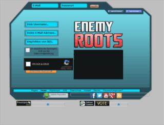 krieg.enemy-roots.com screenshot