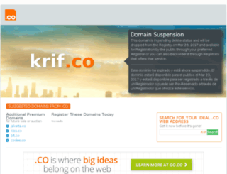 krif.co screenshot