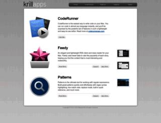krillapps.com screenshot