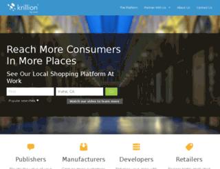 krillion.com screenshot