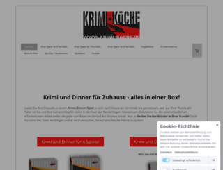 krimi-kueche.de screenshot