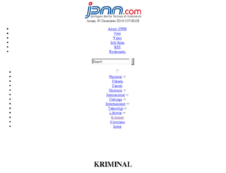 kriminal.jpnn.com screenshot