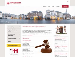 kringvrienden.nl screenshot