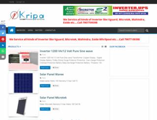 kripainverterups.com screenshot