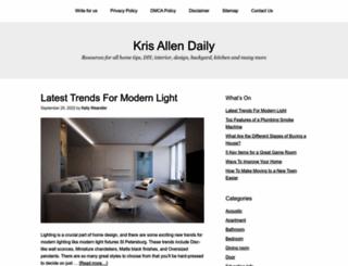 krisallendaily.com screenshot