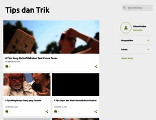 krisantipsdantrik.blogspot.com screenshot