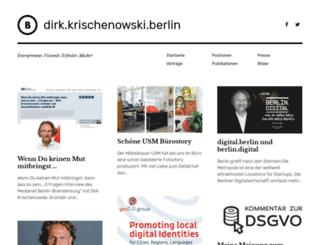krischenowski.com screenshot