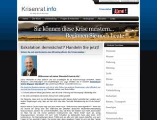 krisenrat.info screenshot