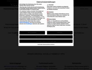 krisenvorsorge-ratgeber.de screenshot