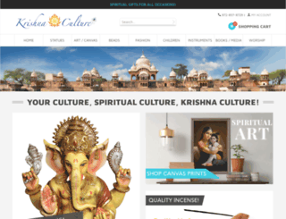 krishnaculture.com screenshot