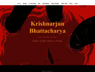 krishnarjunbhattacharya.com screenshot