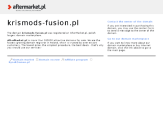 krismods-fusion.pl screenshot